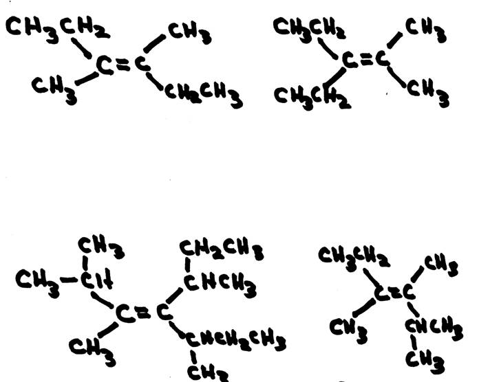 how to draw isomers of heptane